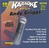 Griggs, Andy - Karaoke: Andy Griggs CD Cover Art