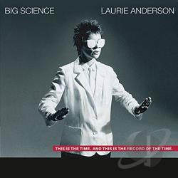 Anderson, Laurie - Big Science CD Cover Art