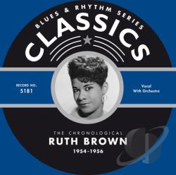 Brown, Ruth - 1954-1956 CD Cover Art