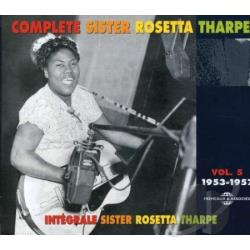 Tharpe, Sister Rosetta - Vol. 5 - Integrale 1953 - 1957 CD Cover Art