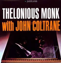 Coltrane, John / Monk, Thelonious - Thelonious Monk with John Coltrane LP Cover Art