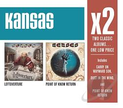 Kansas - Leftoverture/Point of Know Return CD Cover Art