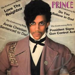 Prince - Controversy CD Cover Art