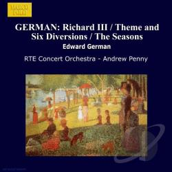 German, E. - Edward German: Orchestral Works, Vol. 1 CD Cover Art