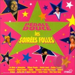 Pedale Douce: Les Folles Soirees CD Cover Art