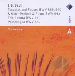 Bach, Johann Sebastian / Koopman - Bach: Toccatas and Fugues CD Cover Art