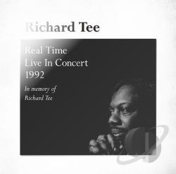 Tee, Richard - Real Time: Live in Concert 1992 CD Cover Art