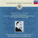 British Music Collection: Frederick Delius CD Cover Art