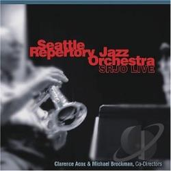 Seattle Repertory Jazz Orchestra - SRJO Live CD Cover Art
