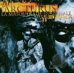 Arcturus - La Masquerade Infernale CD Cover Art
