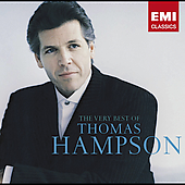 Hampson, Thomas - Very Best of Thomas Hampson CD Cover Art