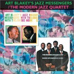 Blakey, Art - Jazz Messengers/Blues at Carnegie Hall CD Cover Art