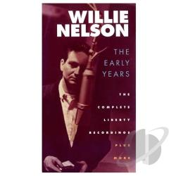 Nelson, Willie - Early Years: The Complete Liberty Recordings Plus More CD Cover Art