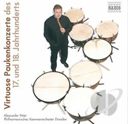 Peter, Alexander - Virtuoso Timpani Concertos CD Cover Art