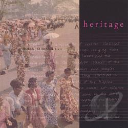 Shroder-Flute, Robert - Heritage CD Cover Art