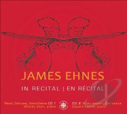Debussy / Ehnes / Ravel / Saint-Saens - James Ehnes in Recital CD Cover Art