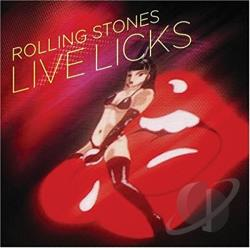 Rolling Stones - Live Licks CD Cover Art
