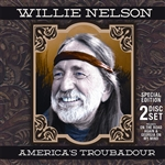 Nelson, Willie - America's Troubadour CD Cover Art