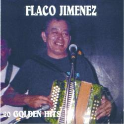 Jimenez, Flaco - 20 Golden Hits CD Cover Art