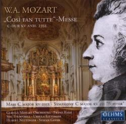 Mozart / Thornhill / Eittinger / Geyer / Raml - Mozart: Cos� Fan Tutte Messe / Raml, Thornhill, Et Al CD Cover Art
