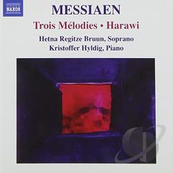 Bruun / Hyldig / Messiaen - Messiaen: Trois Melodies; Harawi CD Cover Art