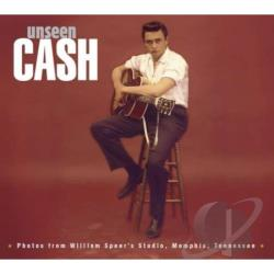 Cash, Johnny - Unseen Cash From William Speer's Studio LP Cover Art