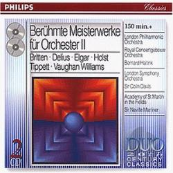 London Philharmonic - Great Orchestral Showpiece CD Cover Art