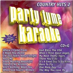 Sybersound - Party Tyme Karaoke: Country Hits, Vol. 2 CD Cover Art