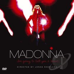 Madonna - I'm Going to Tell You a Secret CD Cover Art