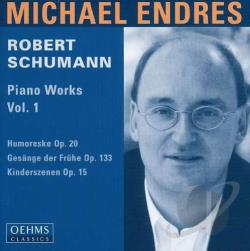 Schumann - Piano Works 1 CD Cover Art