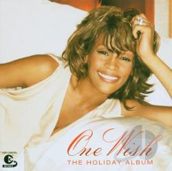 Houston, Whitney - One Wish: The Holiday Album CD Cover Art
