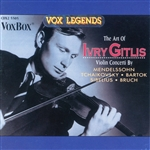 Gitlis, Ivry - Art of Ivry Gitlis CD Cover Art