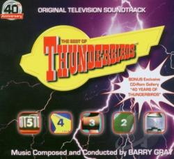 Best Of Thunderbirds CD Cover Art