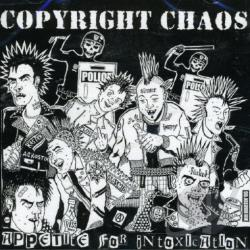 Copyright Chaos - Appetite for Intoxication CD Cover Art