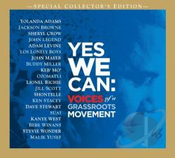 Yes We Can: Voices of a Grass Roots Movement CD Cover Art