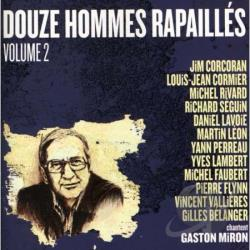 12 Hommes Rapailles Chantent Gaston Miron, Vol. 2 CD Cover Art