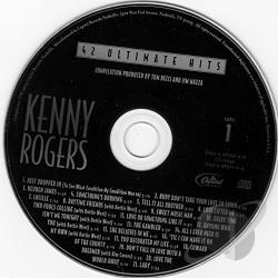 Rogers, Kenny - 42 Ultimate Hits CD Cover Art