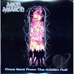 Amon Amarth - Once Sent From the Golden Hall LP Cover Art