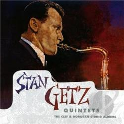 Getz, Stan - Quintets: The Clef & Norgran Studio Albums CD Cover Art