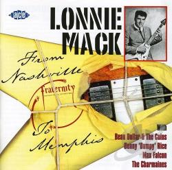 Mack, Lonnie - From Nashville to Memphis CD Cover Art