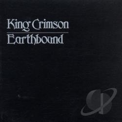 King Crimson - Earthbound CD Cover Art