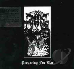 Darkthrone - Preparing for War CD Cover Art