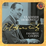 Chopin / Horowitz - Favorite Chopin CD Cover Art