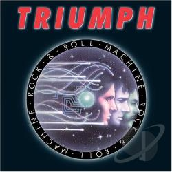 Triumph - Rock & Roll Machine CD Cover Art