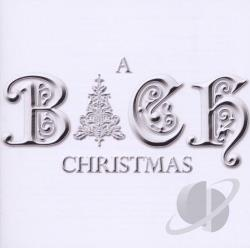 Bach, Johann Sebastian / Choir Of New College - Bach Christmas CD Cover Art