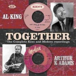 Adams, Arthur / King, Al - Together: The Complete Modern And Kent Recordings CD Cover Art