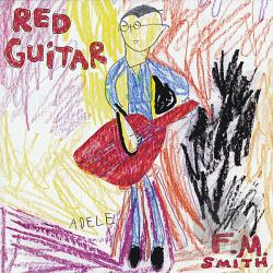 Fm Smith - Red Guitar CD Cover Art