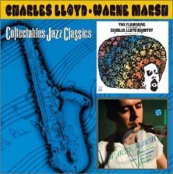 Lloyd, Charles - Flowering/Warne Marsh CD Cover Art