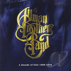 Allman Brothers Band - Decade of Hits 1969-1979 CD Cover Art