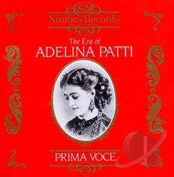 Adelina Patti/Opera Arias CD Cover Art